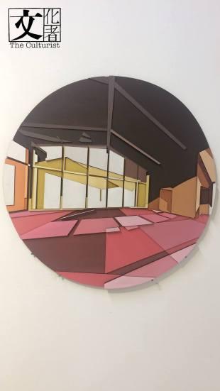 陳諺鋒作品——巧用色彩和材質上的層次感,令大眾聚焦在光或暗面時,看到不一樣的空間感。