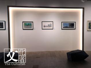 《前面尚有一萬里:慧惠初心畫作展》展覽