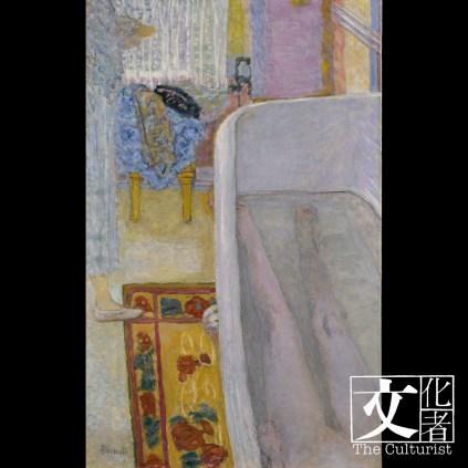 皮耶‧波納爾(1867–1947), 浴缸中的裸女, 1925 Tate: Bequeathed by Simon Sainsbury 2006, accessioned 2008 © Tate, London 2018