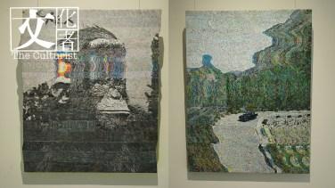 西班牙畫家 Alejandro Bombín 的兩幅作品。
