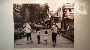 展覽中Xyza最喜歡的作品,從左邊起是她的母親、兩個姪女和妹妹。