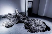 #木村奈央 的作品「浮花」。