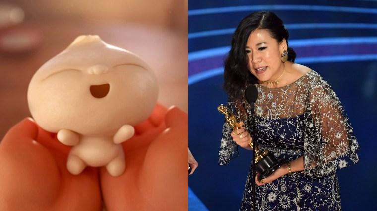 Pixar製作的《包寶寶》為華裔女導演史之予(右)(OSCARS官方圖片)作品,亦是《超人特攻隊2》映前短片。(劇照)
