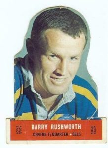 Barry Rushworth - a key addition to the 1964 team.