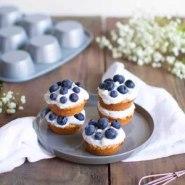 Cupcakes veganos con crema de coco