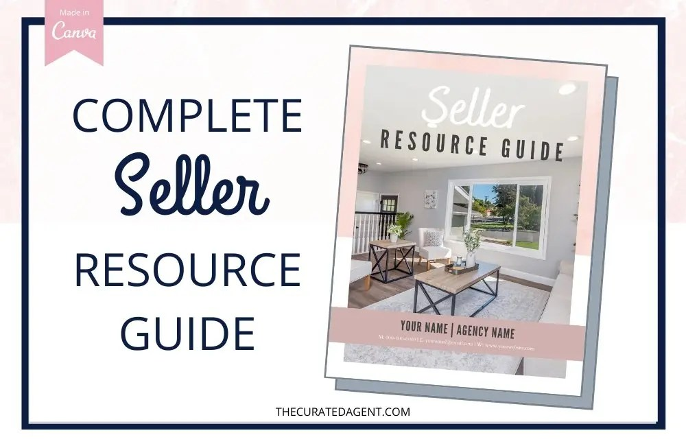 Complete Real Estate Seller Resource Guide - Editable Canva Template