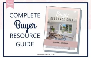 Complete Real Estate Buyer Resource Guide - Editable Canva Template