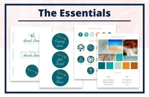 The Sarah Collection - The Essentials - Real Estate Branding Bundle for Women