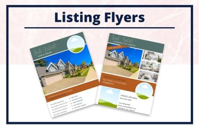 The Cheryl Collection - Flyers - Real Estate Branding Bundle for Women