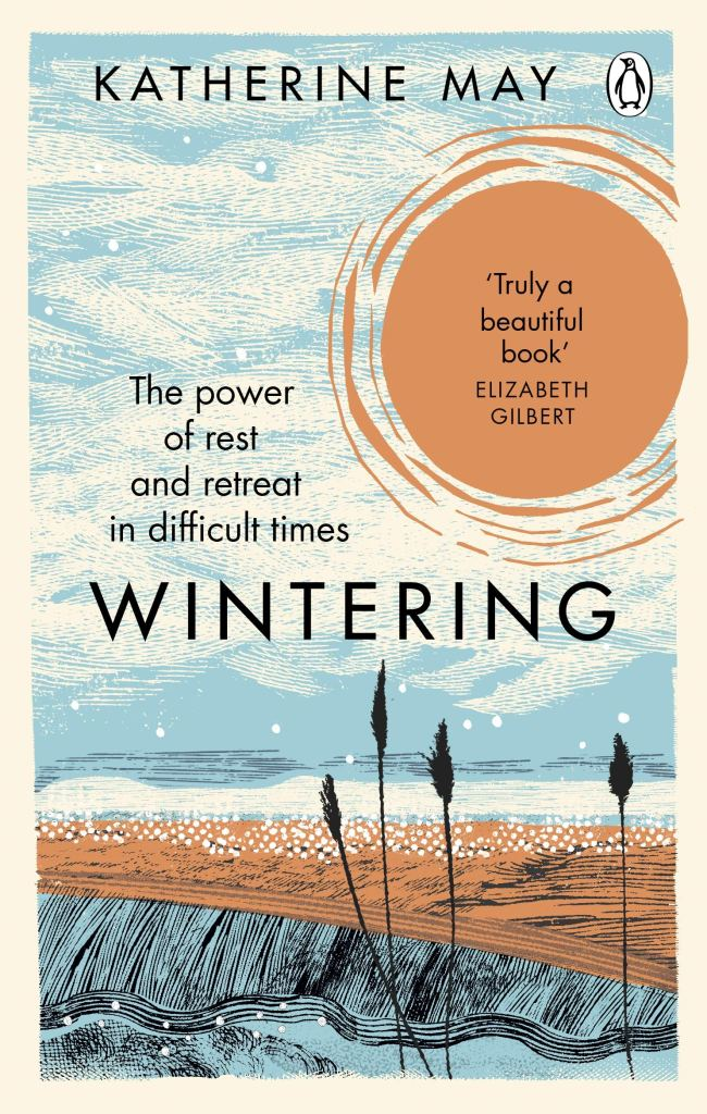 A book cover of Wintering by Katherine May