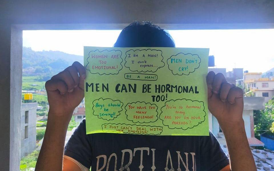 Men can be hormonal too!
