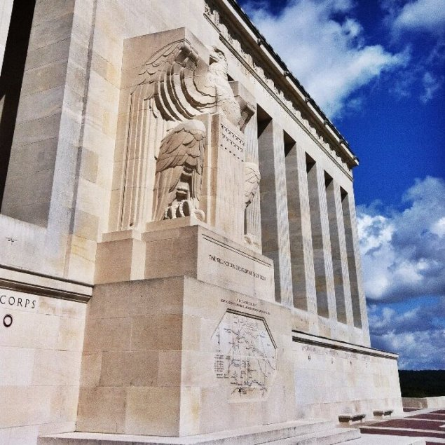 Semper Fi Chateau-Thierry American Monument