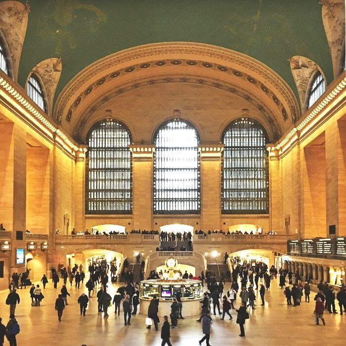 Interior of Grand Central Station Grand Hall