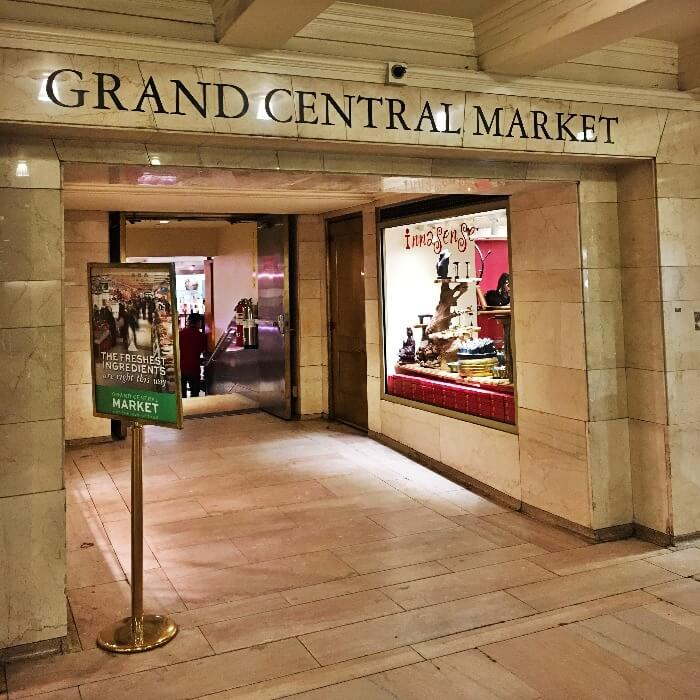 Entrance to the Grand Central Station Market