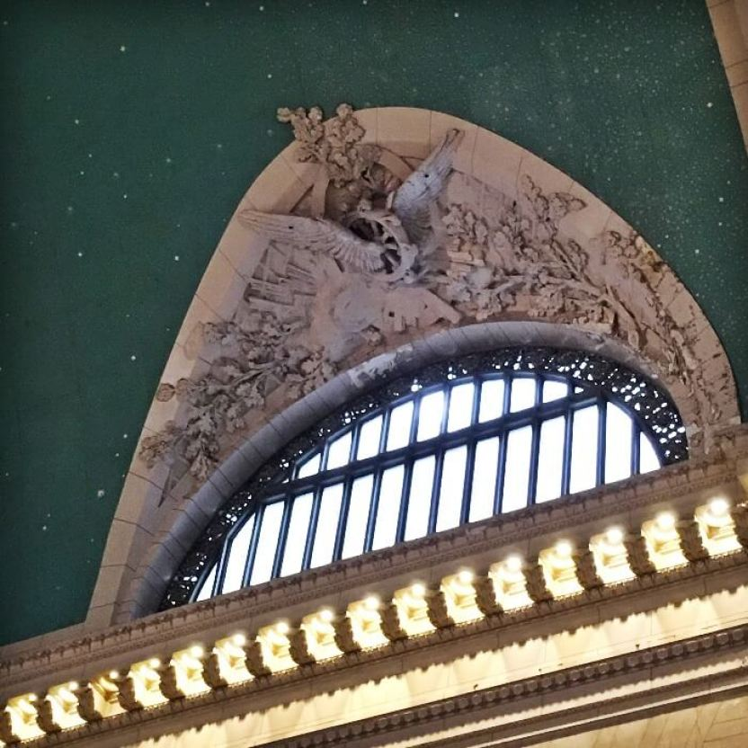 Grand Central Terminal Window Detail