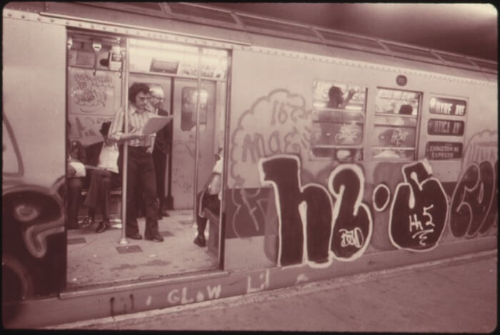 NYC Book old 1970's subway