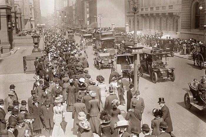 NYC Book old photograph street scene