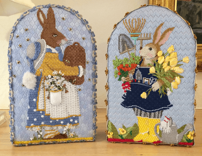 Patricia Sone Easter Bunny Needlepoint canvases