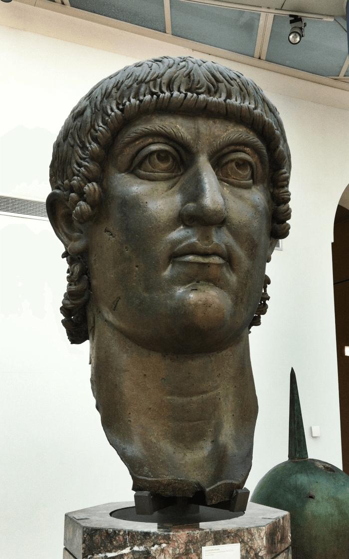 Wolf Bronze Head