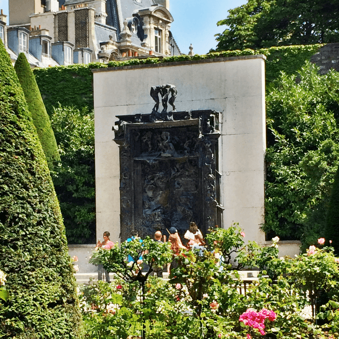 Bronze Gates of Hell at the Rodin Museum