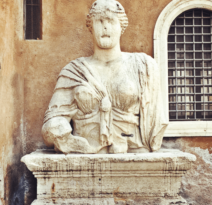 When a Roman Statue Has Something to Say….