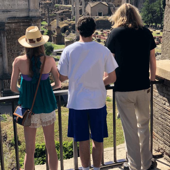Rome 2018 Review Teenagers Roman Forum