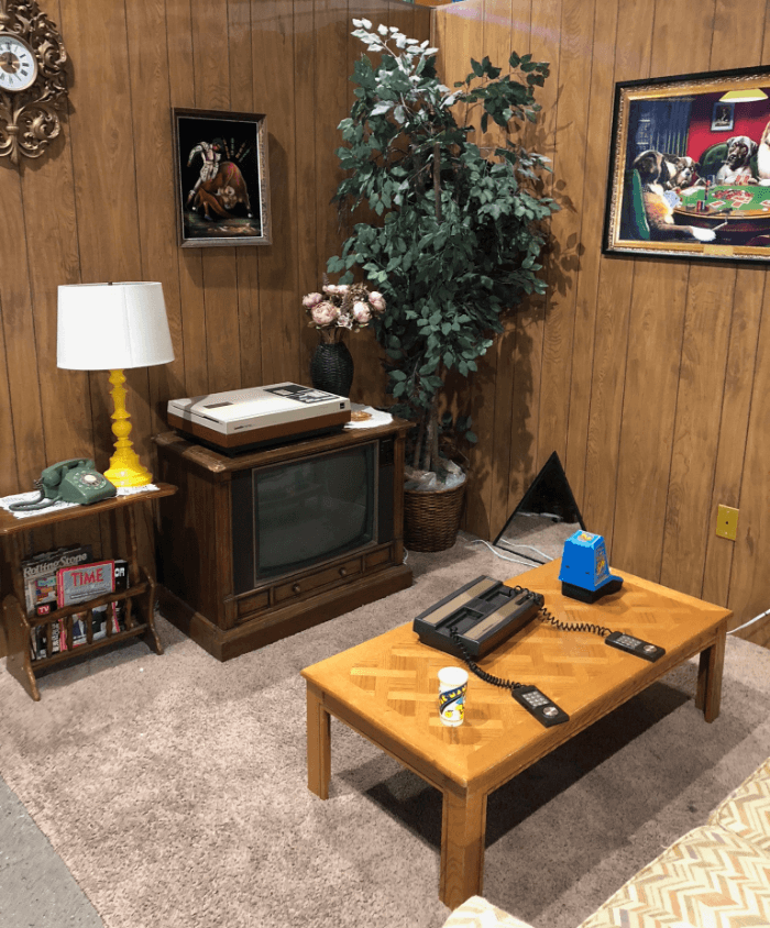 National Videogame Museum Living Room Exhibit