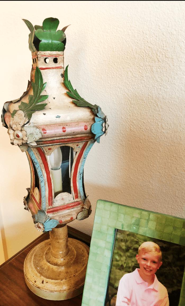 Antique Venitien Gondola Lantern