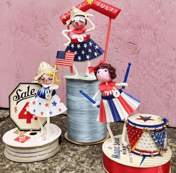 4th of July table top decorations