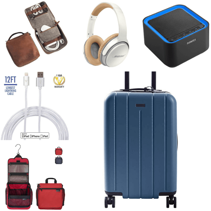 Travel Gadgets collage