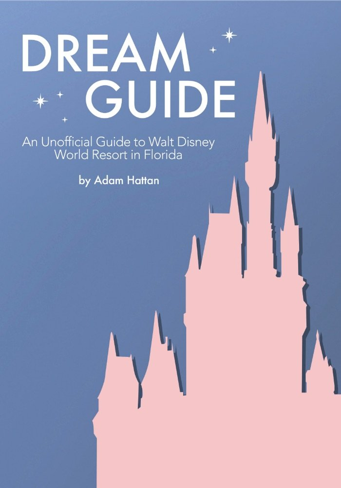 Pink and Blue Book Cover for Adam Hattan's Dream Guide