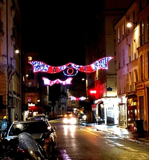 Christmas in Paris Lights