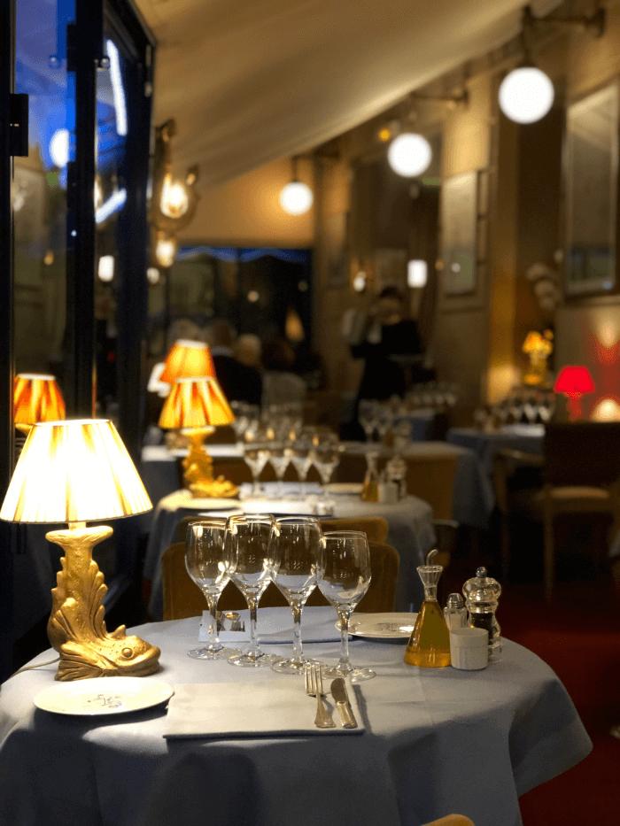 Paris Restaurant Guide la Mediterranee