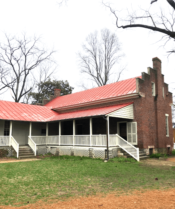 The Carter House Back Yard Franklin Tennessee