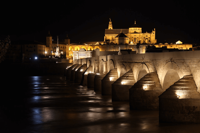 The Roman Bridge Cordoba, Spain