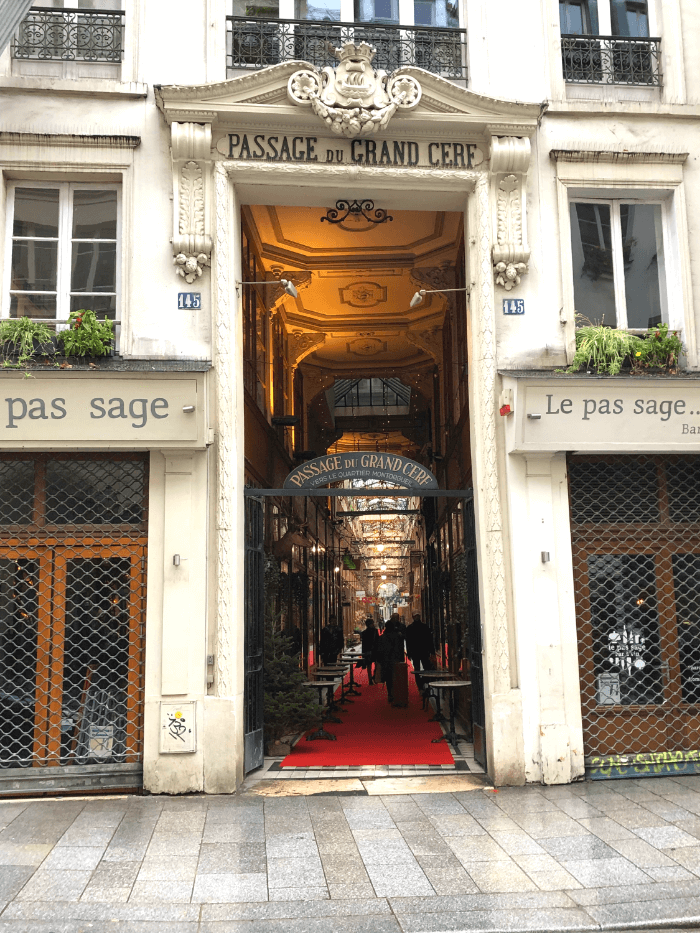 Entrance to the Passage Grand Cerf