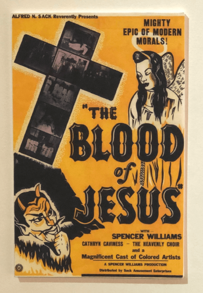 Yellow and Black Blood of Jesus Race Film Movie Poster