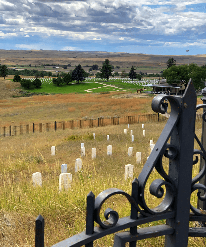 Little Big Horn Battlefield in Southeast Montana