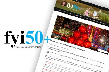 Press Coverage: fyi:50+: Discover the Magic of Manhattan