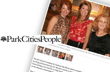 Press Coverage: Park Cities People