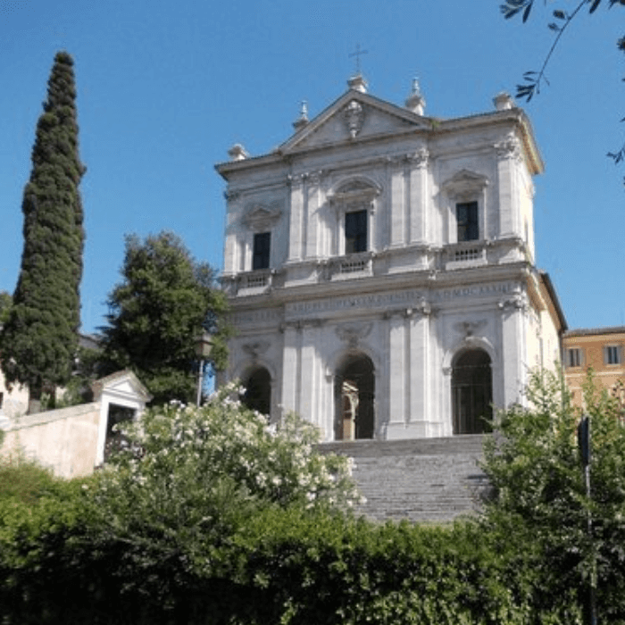 san gregorio al celio church in Rome