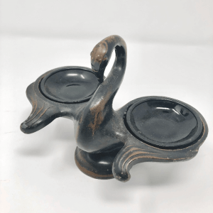 Bronze Swan Incense Burner
