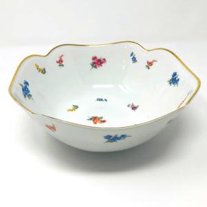 Pink Flowers Bavarian Bowl