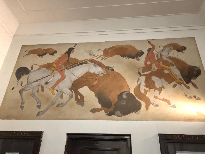 Hamilton Texas Post Office Mural