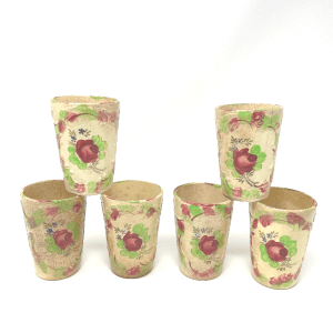 Floral Made in Japan Cups