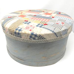 Quilted Round Basket