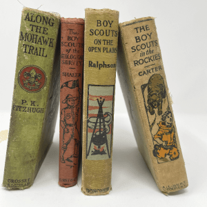 Vintage Boy Scout Books