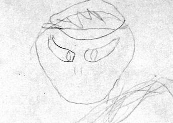 Barney Hill's sketch, February 22, 1964.