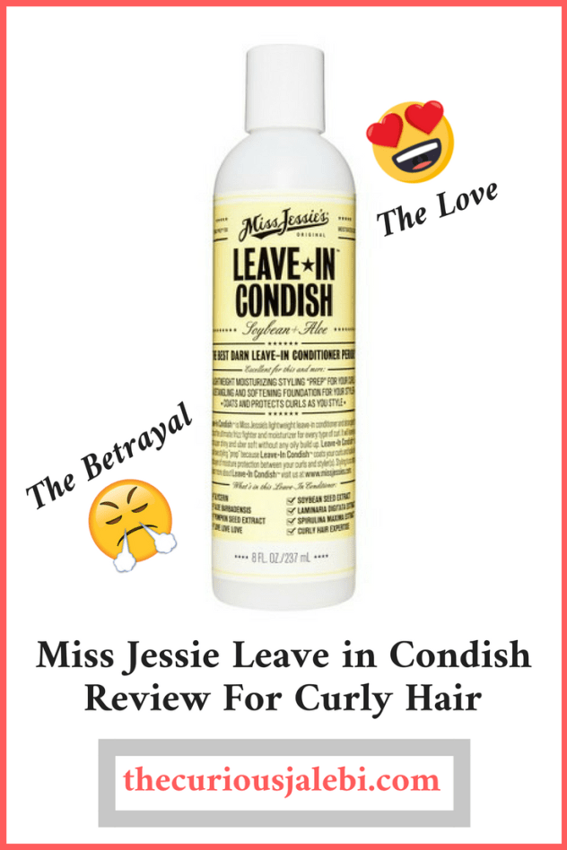 Miss Jessie Leave in Condish