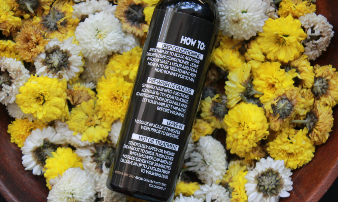 How to Use Righteous Roots Hair Rx Oil